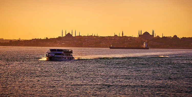 Buke Hotel - Slice of the City - Bosphorus Sunset